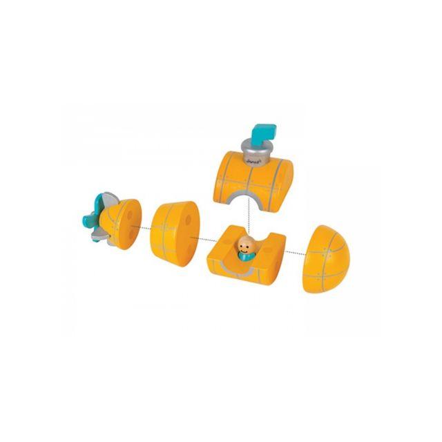 Juratoys-janod Kit Magnet Sous marins
