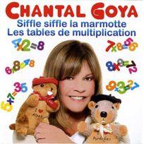 - Chantal Goya - Best of - Siffle siffle la marmotte - Les tables de multiplication Boitier cristal