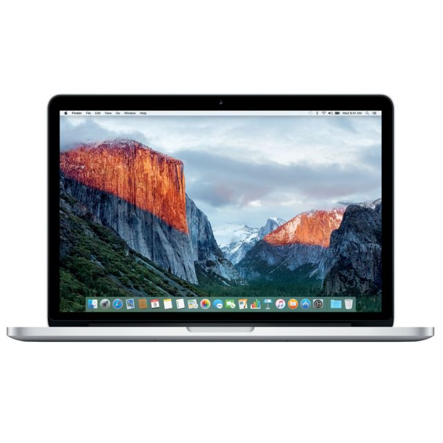 APPLE - MacBook Pro 13 Retina - 128 Go - MF839F/A - Argent