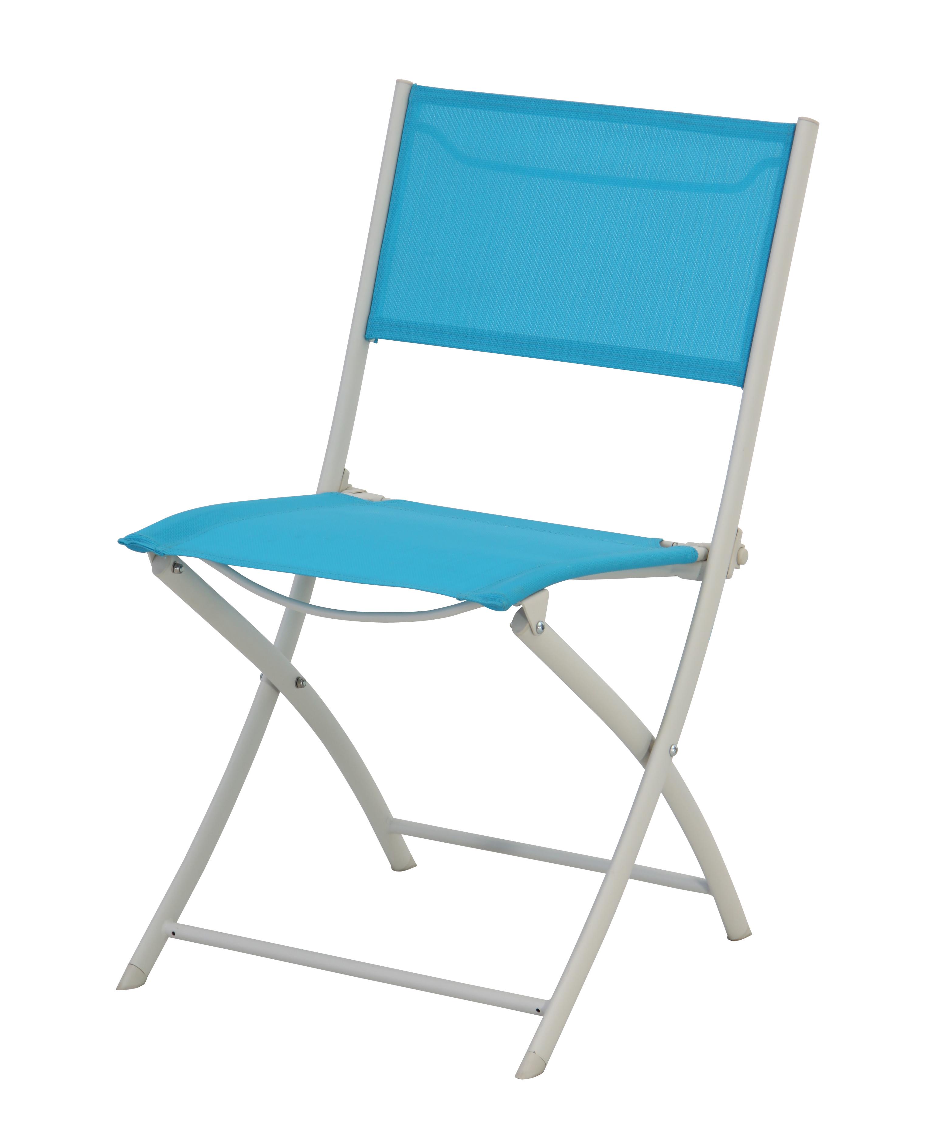 CARREFOUR Chaise De Jardin Tello Pliante