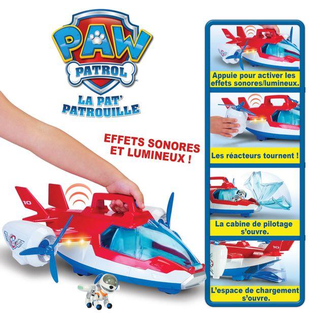cef450795 PAT PATROUILLE - Avion Air Patrouilleur - 6026623 - pas cher Achat   Vente  Voitures - RueDuCommerce