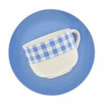 Maison A Vivre - Lot de 6 tasses à déjeuner Vichy