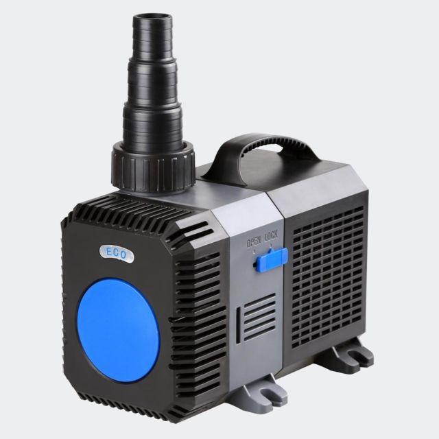 Helloshop26 Pompe à eau de bassin filtre filtration cours d'eau eco 10000l/h 80 Watts 4216029