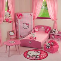 Beau Jemini   Tapis Rond Hello Kitty