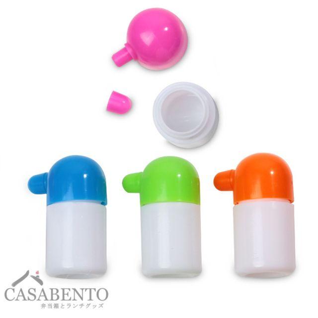 Casabento Mini Bouteilles à Sauce pour Bento - Soy