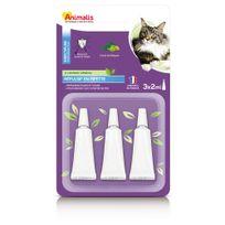 Animalis - Répulsif Insectifuge en Pipette pour Grand Chat - 3x2ml