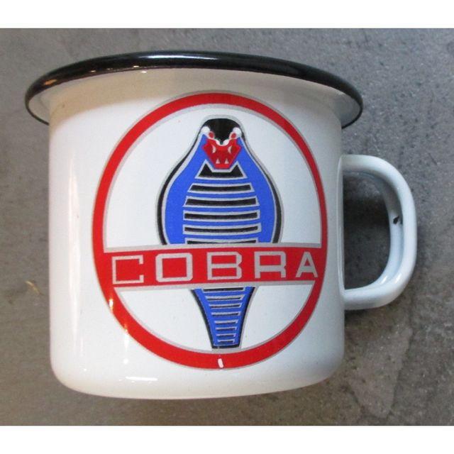 Universel mug cobra ford mustang , en email tasse à café emaillée