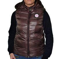Love Pink - Doudoune Sans Manches - Femme - V1335 - Marron
