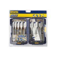 Irwin - Coffret Abs de 8 mèches plates Blue Groove 4X - 10506629