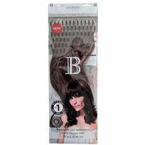 Balmain Hair - 50 Extensions cheveux Balmain 40 cm - A froid - Chatain dore N 2 Longueur des cheveux:40 - Old_Couleur:RH : N 2 Chatain dore / Majirel : N 4.3