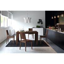 Inside 75 - Table repas extensible Vero 130x90 wengé