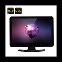 Auto-hightech - Ecran 15,4 pouces Tft Lcd Full Hd, 16: 9, lecteur Dvd, Tv et Vga, Hdmi, Usb, Sd