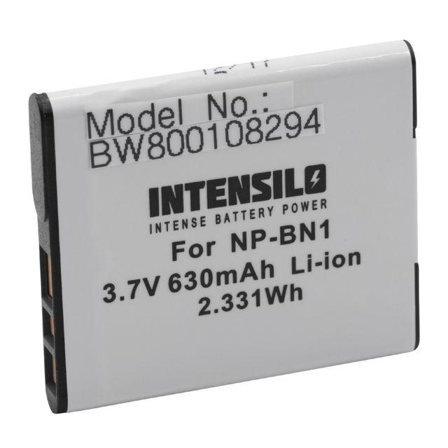 DSC-TX100V DSC-W510 DSC-TX100 DSC-W530 NP-BN1 DSC-W570 remplace la r/éf Batterie Li-Ion haute performance pour SONY Cybershot DSC-T110 DSC-TX10