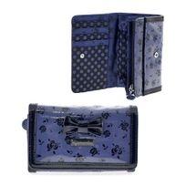 Camomilla - portefeuille 14 x 9.5 x 4 cm - Bleu - Collection Rosalyn