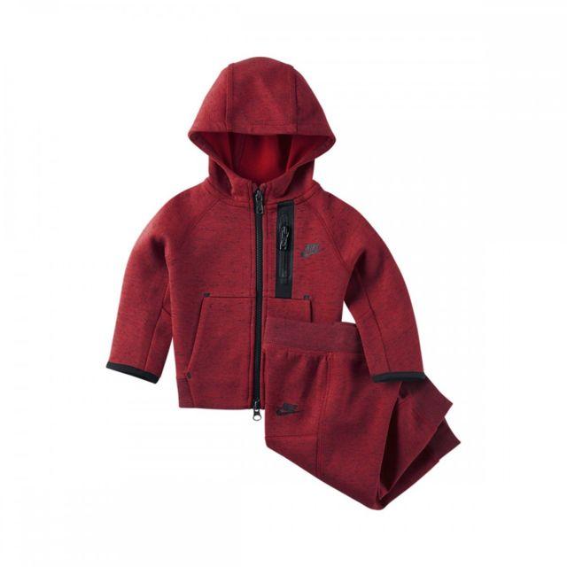 57051937fff Nike - Ensemble de survêtement Tech Fleece Bébé - 678821-687 - pas cher  Achat   Vente Combinaisons
