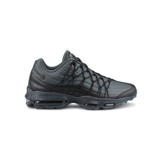5cb036687430 Nike - Air Max 95 Ultra Se Noir - pas cher Achat / Vente Baskets homme -  RueDuCommerce