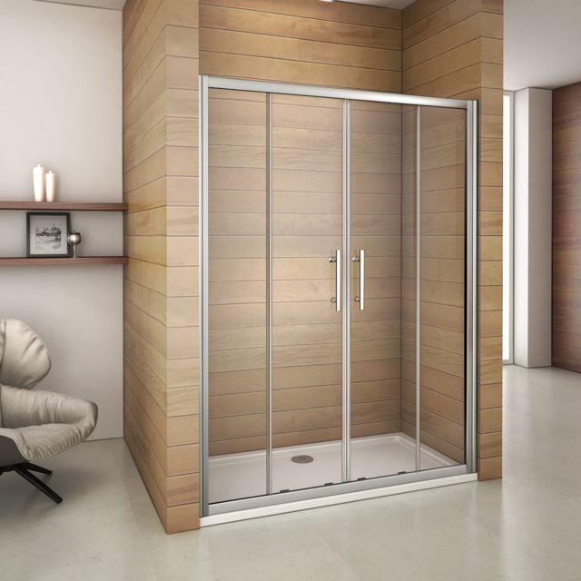 marque generique porte de douche 120x185cm porte de douche coulissante en verre. Black Bedroom Furniture Sets. Home Design Ideas