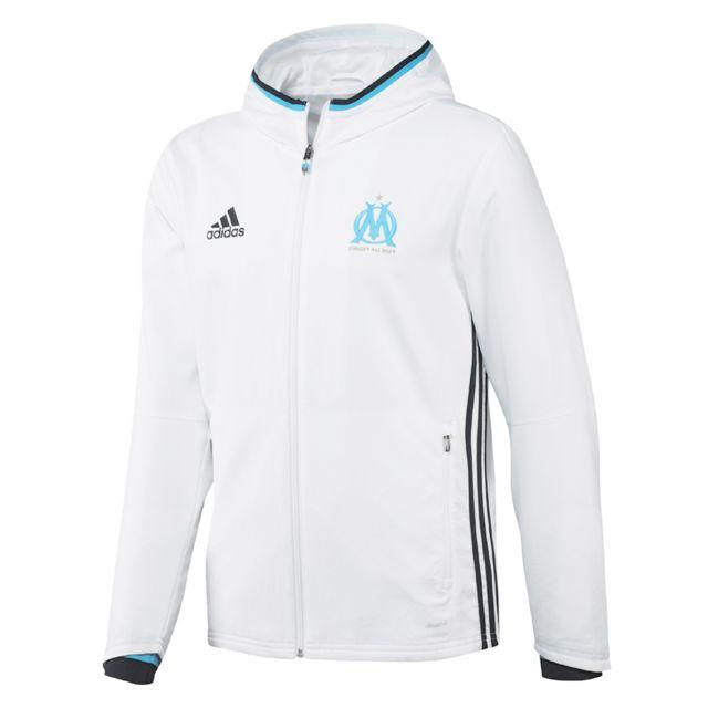 9630533fe5 Adidas performance - Marseille adidas Performance Veste de présentation  Olympique de Marseille 2016/17