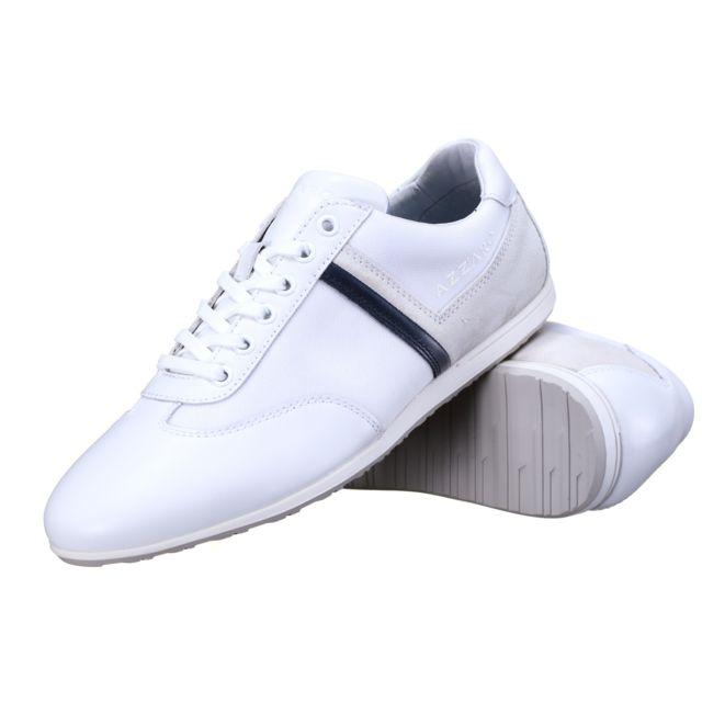 chaussures de séparation a3dff ccf66 Azzaro - Chaussure Pontoi Blanc - pas cher Achat / Vente ...