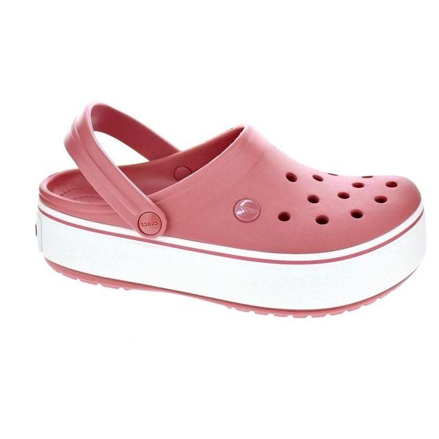 Clog Rose Sabot Chaussures Femme Modele Crocs Crocband Platform N8wy0mOPvn