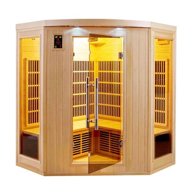 france sauna sauna infrarouge apollon 3 4 monophas pas cher achat vente saunas chaleur. Black Bedroom Furniture Sets. Home Design Ideas