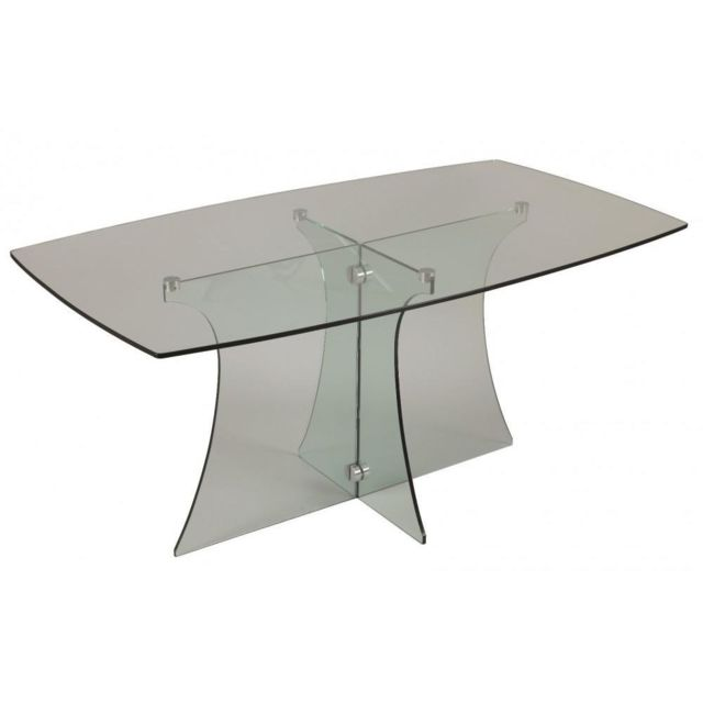 Inside 75 Table repas Zircon en verre