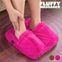 Welzenter - Masseur de Pieds Fluffy Massager Couleur Rose