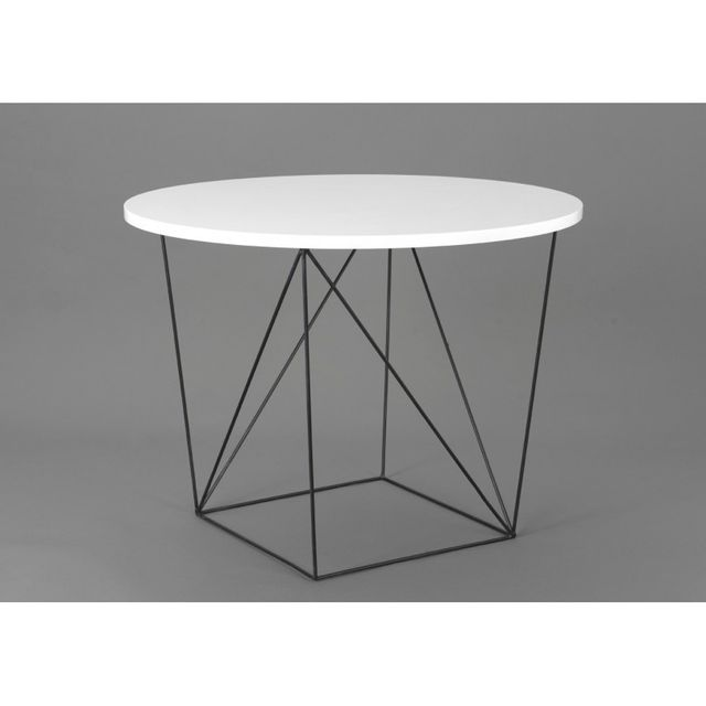 Amadeus Table ronde Glossy