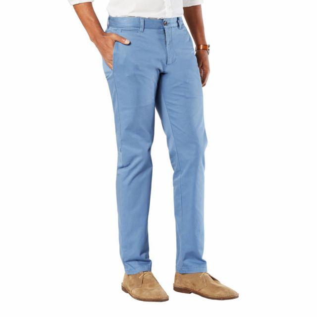 Slim Bleu Pantalon Lavande Tapered Dockers Marina Original Sunset iPkOXZu