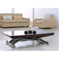 Giovanni - Table basse relevable Cooper wenge
