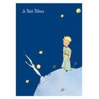 Le Petit Prince - Grand Cahier à rabats bleu foncé - Petit Jour