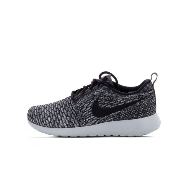 more photos 9380b acc07 Nike - Basket Roshe One Flyknit - 704927-007 - pas cher Achat   Vente  Baskets femme - RueDuCommerce