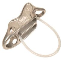 Petzl - Descendeur d escalade - charlet Reverso 4 ass/desc/plaque Gris 13700