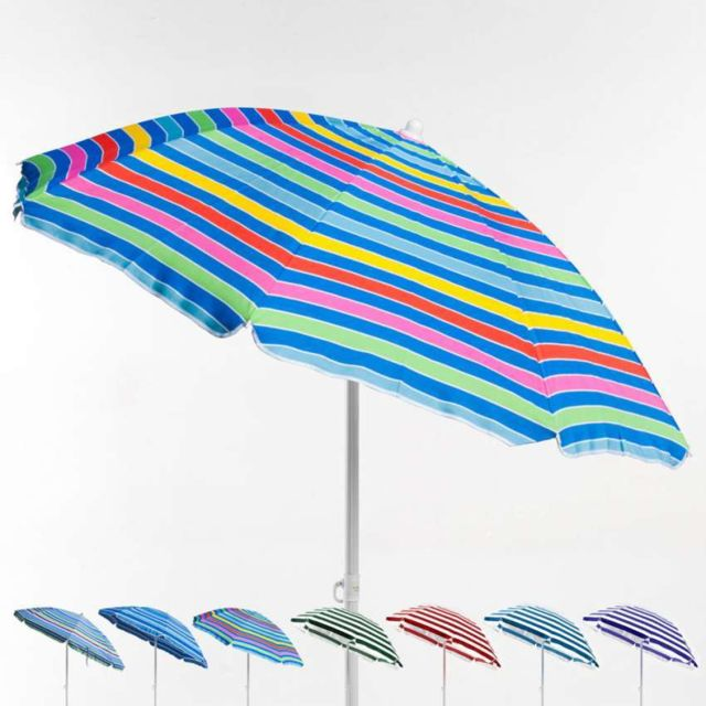 beachline parasol de plage 200 cm portable coton t pas cher achat vente parasols. Black Bedroom Furniture Sets. Home Design Ideas