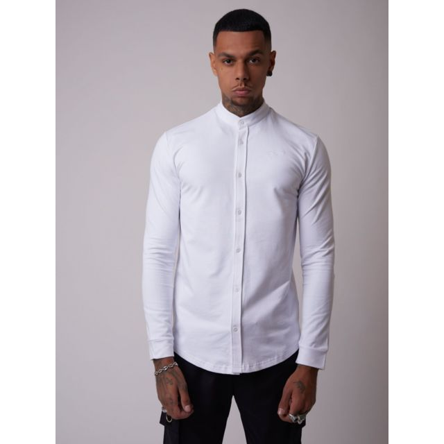Project X Chemise basic col Mao