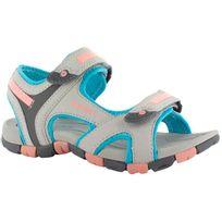 Hitec - Hi-Tec Gt Strap - Sandales - gris/turquoise