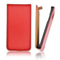 Mobility Gear - Etui flip Kf fermeture aimant pour Htc Desire 300-Rouge