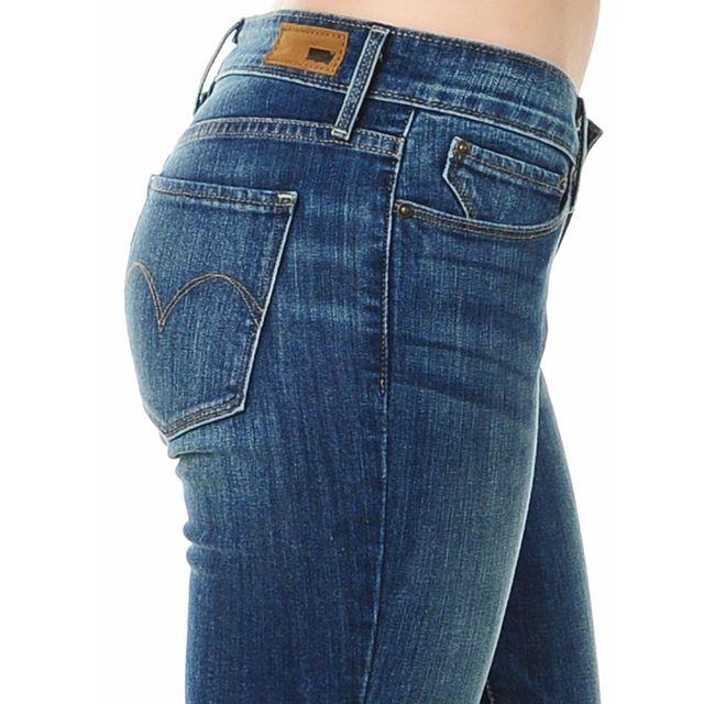 Levi'S - Levis - Jean - Femme - Curve Id - Demi Curve - Mid Rise Skinny - 0720 - Bleu Délavé