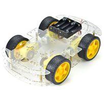 TBS - TBS2652 Chassis voiture pour Arduino - Voiture Robot Intelligente - Avec Encodeur de vitesse - Smart Robot Car Arduino with Speed Encoder