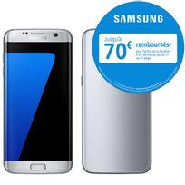 Samsung - Galaxy S7 Edge Silver