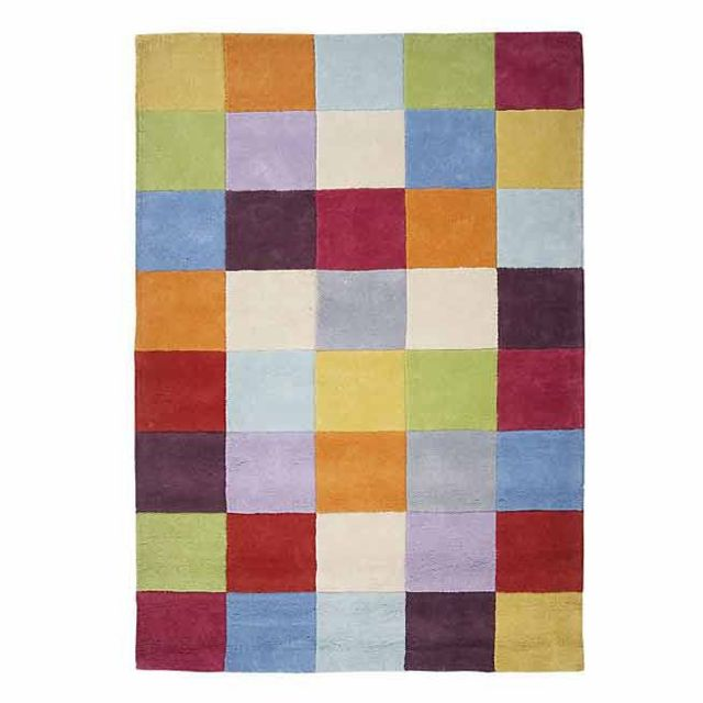 Alinéa - Game Tapis multicolore 140x200cm - pas cher Achat ...