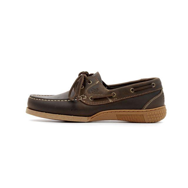 9218ae40c7d34 Tbs - Chaussures de ville Hauban Marron - 46 - pas cher Achat   Vente  Mocassins - RueDuCommerce