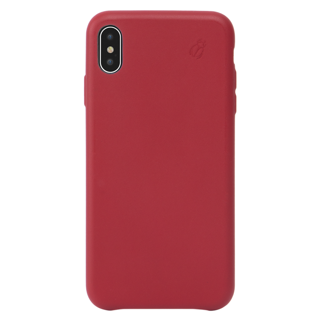 coque rigide en cuir iphone xs max