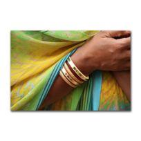 Boniday - Tableau Plexi Ambiance Inde 55 x 80 cm