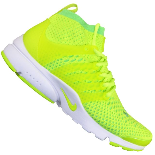 nike homme jaune fluo