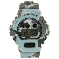 Montres Sport Homme - Montre Homme Sport Originale Silicone Camouflage 2404