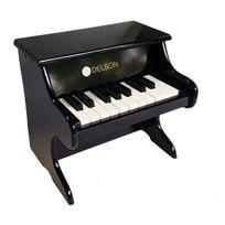 DELSON - Piano Bébé Noir - 1822-BK