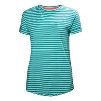 Helly Hansen - Tee-shirt Naiad manches courtes bleu femme