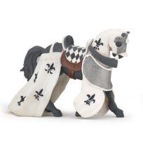 Papo - Figurine Cheval drapé blanc