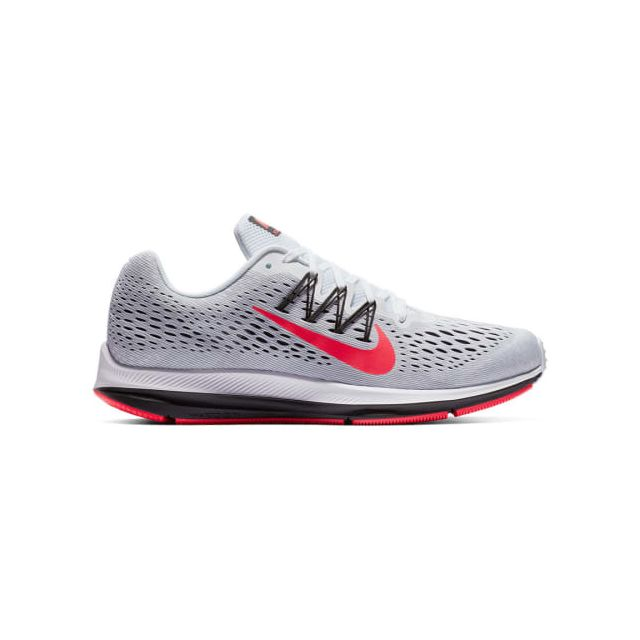 Nike Chaussures Air Zoom Winflo 5 gris rouge pas cher